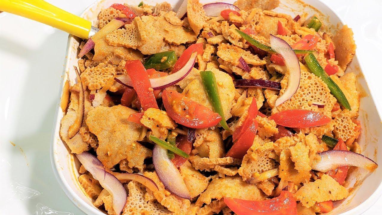 News Magazine Ethiopian Food: የድርቆሽ እና የሽሮ ፍትፍት አሰራር