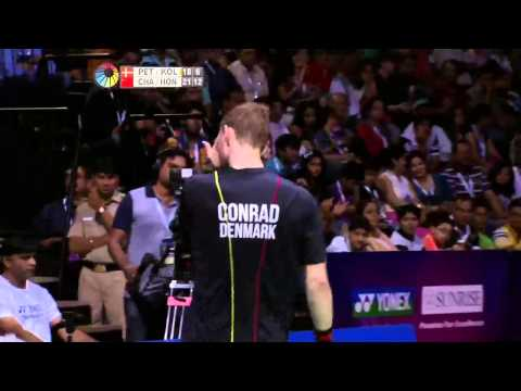 M.C-Petersen/M. P. Kolding vs Chai Biao/Hong Wei | MD F Match 3 - YONEX Sunrise India Open 2015