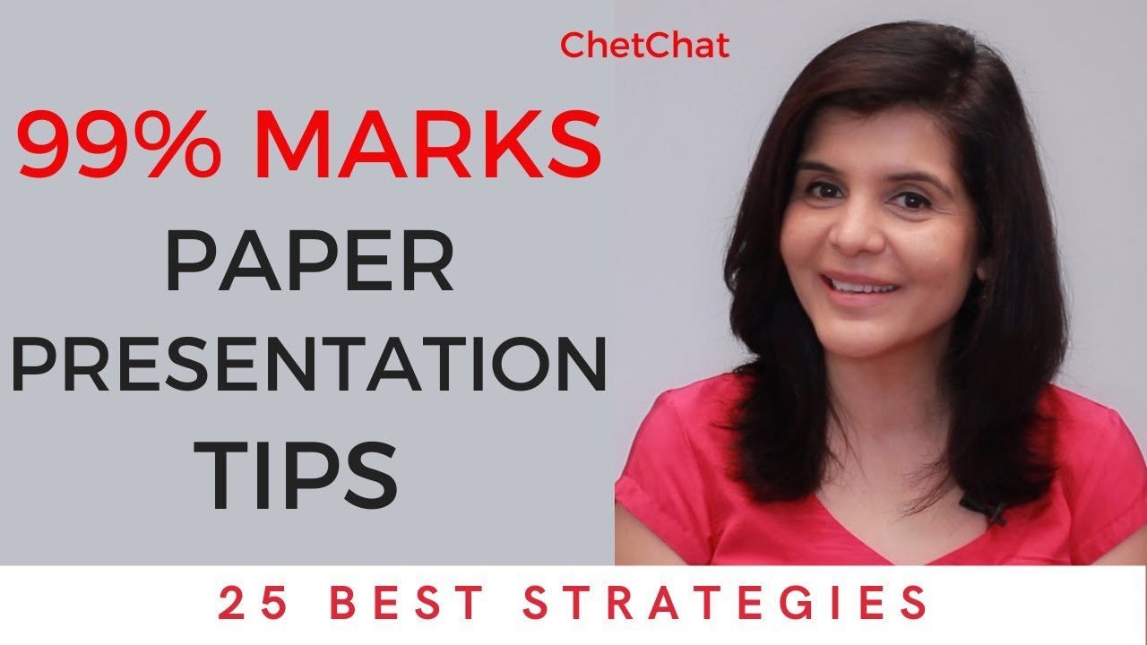 Download How to Write Answers in Board Exam   Paper Presentation Tips for Students   ChetChat Study Tips