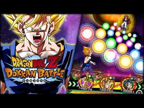 THE GREATEST ROTATION IN DOKKAN HISTORY! FULL RAINBOW LR FUSION POWER! (DBZ: Dokkan Battle)