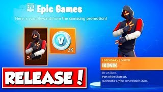 ❌DANN comes the IKONIK SKIN in FORTNITE!! 😱 - NEW MAP & EVENT in FORTNITE