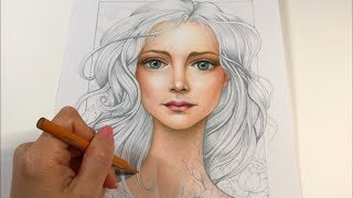 SKIN / FACE DRAWING | The Women of Flowers Collection | CHRIS CHENG