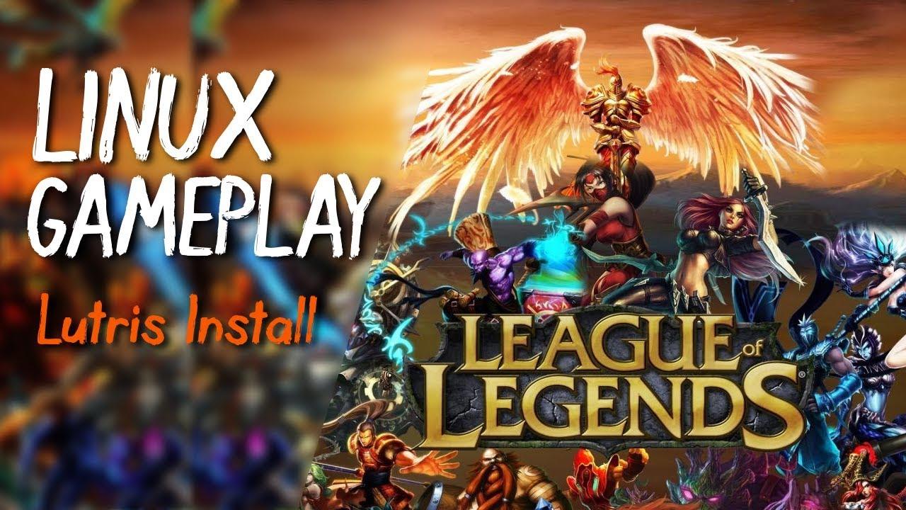 league of legends linux mint 2018