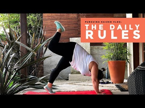 The 3 Health Hacks I Swear By Everyday | Pursuing Kaizen Vlog Ep 2