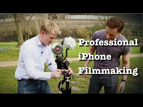 iPhone Filmmaking and Mobile Journalism - Planet of the Apps - Challenge TV (UK)