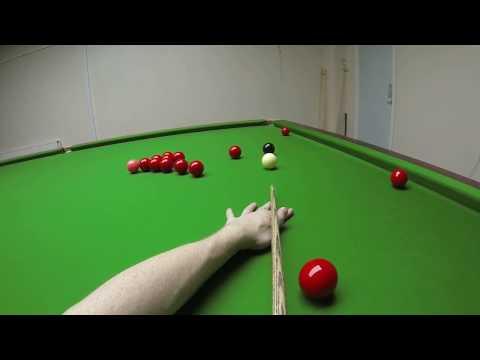 Snooker Headcam 147 Maximum Break - John Foster