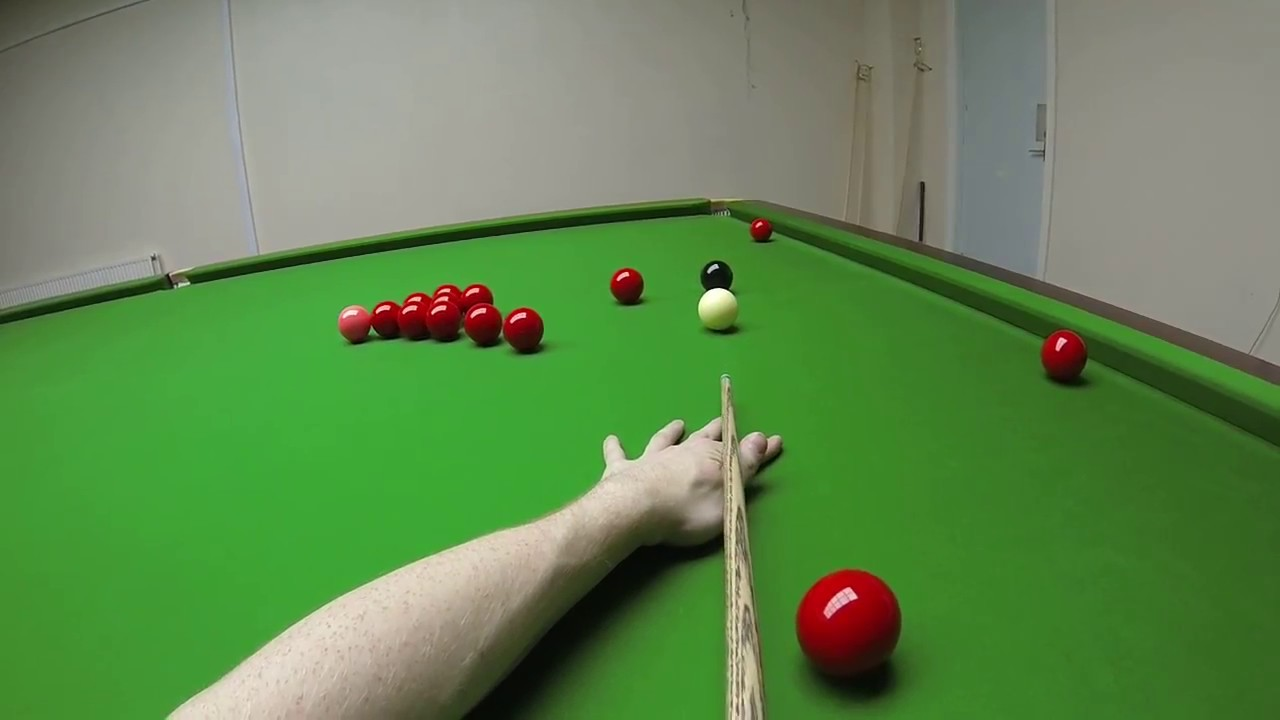 Snooker Headcam 147 Maximum Break John Foster Youtube
