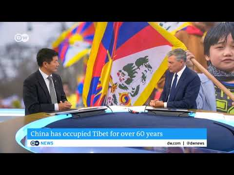 Interview with Sikyong Dr. Lobsang Sangay | Deutsche Welle TV (English)