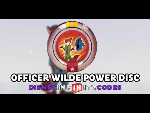 Download Officer Wilde Power Disc - Zootopia - Disney Infinity 3.0