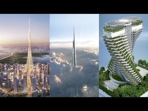 WOLKENKRATZER: die höchsten und innovativsten Projekte 2019-2045