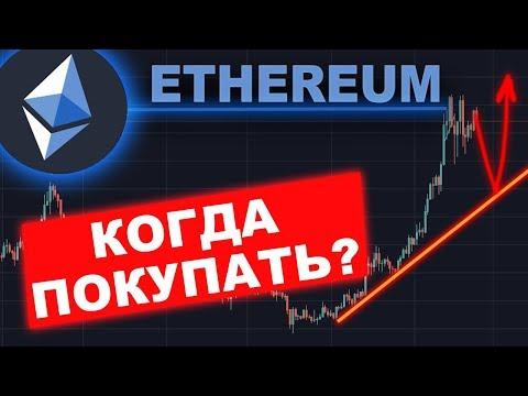 Криптовалюта Эфириум — КОГДА ПОКУПАТЬ?