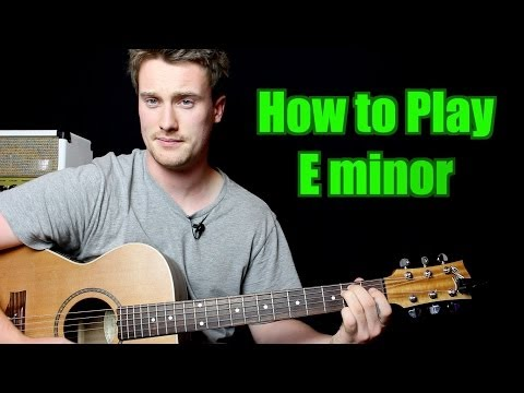 How to Play - E minor (Chord, Guitar)