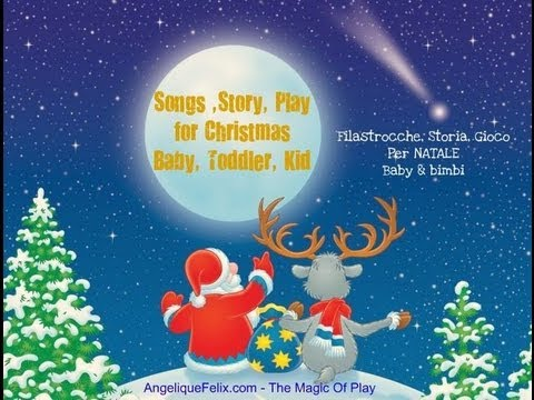 Immagini Di Natale In Inglese.Natale Per Bambini Canzoni Christmas For Kids Songs And Story
