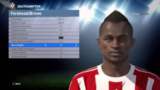 PES 2016 - Sadio Mané face build