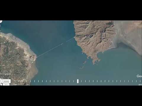 Urmia Lake 1984 to 2016 (Historical Google Earth)