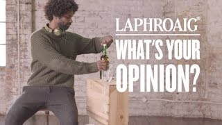 Nine People, One Whisky, Many Opinions - Laphroaig Opinions Welcome