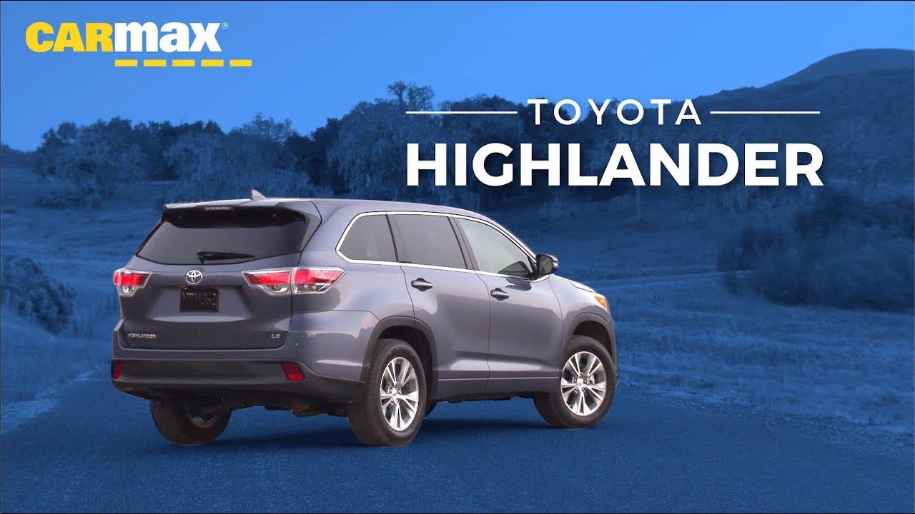 Carmax Toyota Highlander >> 2019 Toyota Highlander Reviews Photos And More Carmax