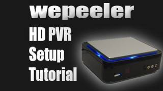 Hauppauge HD PVR Setup Tutorial Xbox 360 PS3