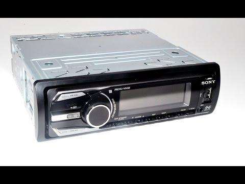 Обзор автомагнитолы Sony Cdx-GT660UE. Самый разноцветный.