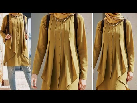 Very stylish and easy dress cutting and stitching.