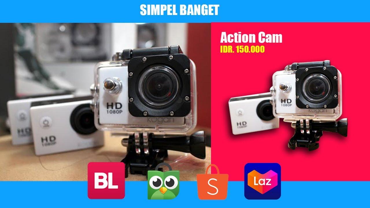 Cara edit foto produk online shop di PHOTOSHOP !!! - YouTube