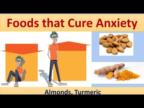 Foods that Cure Anxiety - Almonds, Turmeric