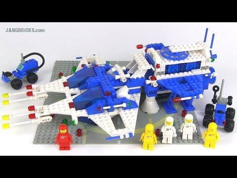 Lego Classic Space 6980 Galaxy Commander Set From 1983 Youtube