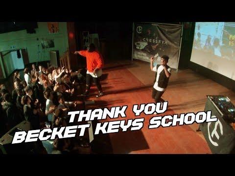 Shoutout to Becket Keys School!