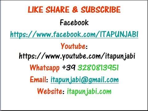 Live Ep-02 Learn italian in punjabi  +39 3280813951