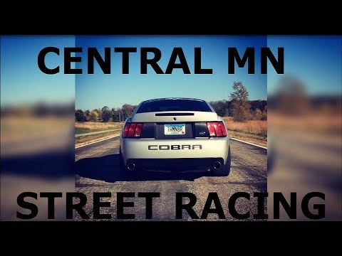 Central MN illegal Street Racing 2017!