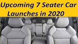 Upcoming 7 Seater Car Launches in 2020. Big Family Cars from Kia, Tata Motors, Mahindra coming