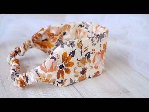 Simple Headband for Beginners - DIY Headband from Scrap Fabric