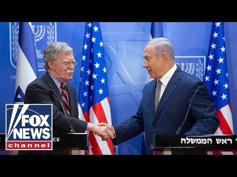 Bolton, Netanyahu meet in Jerusalem, condemn Iran nuclear deal