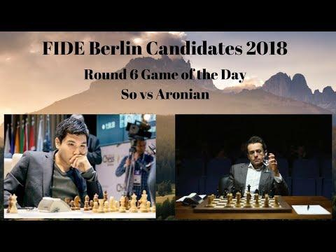 FIDE Berlin Candidates 2018 | So vs Aronian