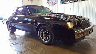 "1986 Buick Regal T-Type "" Grand National "" Turbo For Sale Ohio Andy Swavel Go Pro"
