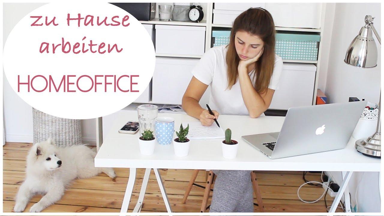 homeoffice zu hause arbeiten freiberuflich blogger lovethecosmetics youtube. Black Bedroom Furniture Sets. Home Design Ideas