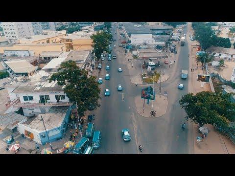 La Ville De Pointe-Noire En Drone VLOG #242 | République du Congo – Afrique Centrale
