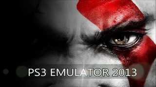 PS3 Emulator For PC 2013