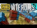 PUBG WTF RULES: Crates Only Gameplay
