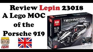 Review Porsche 919 Hybrid - A lego MOC from Lepin 23018