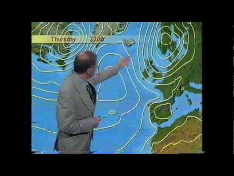 BBC Weather 30th July 1998