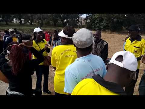 Manicaland volleyball supporters