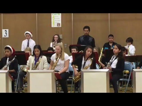 """Incline Middle School Jazz Band Performs """"Coyote Blues"""""""