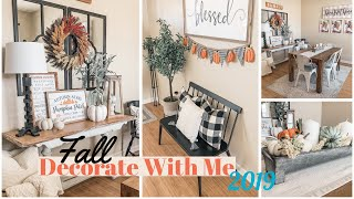 Fall Decorate with Me |Fall Decor 2019 | Military Housing