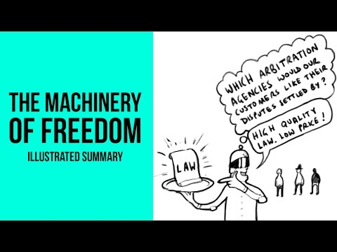 The Machinery Of Freedom: Illustrated summary