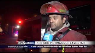 Víctor Larco: Corto circuito provocó incendio en Buenos Aires