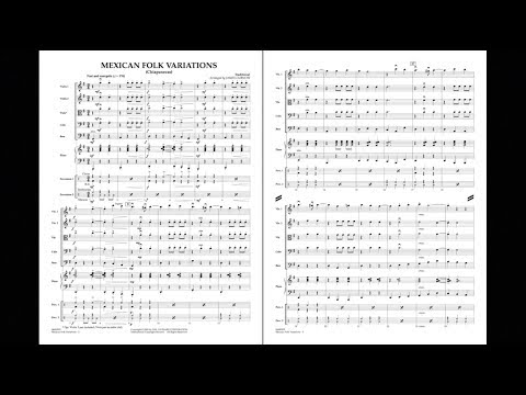 Mexican Folk Variations (Chiapanecas) arr. James Curnow