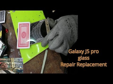 Galaxy J5 2017 SM J530F Glass Only Repair Replacement Service touch glass change
