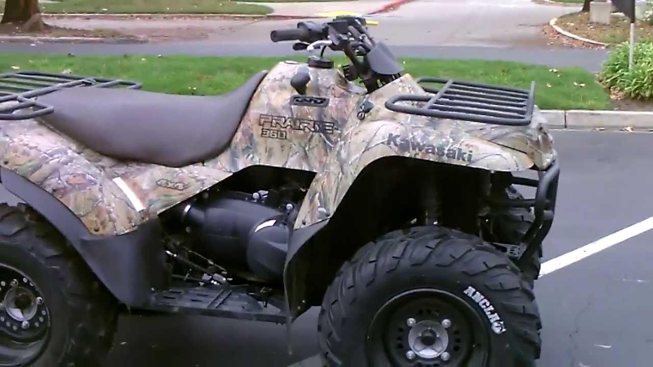 Contra Costa Powersports 2011 Kawasaki Prairie 360 4x4 Realtree APG Camo Colored Utility ATV