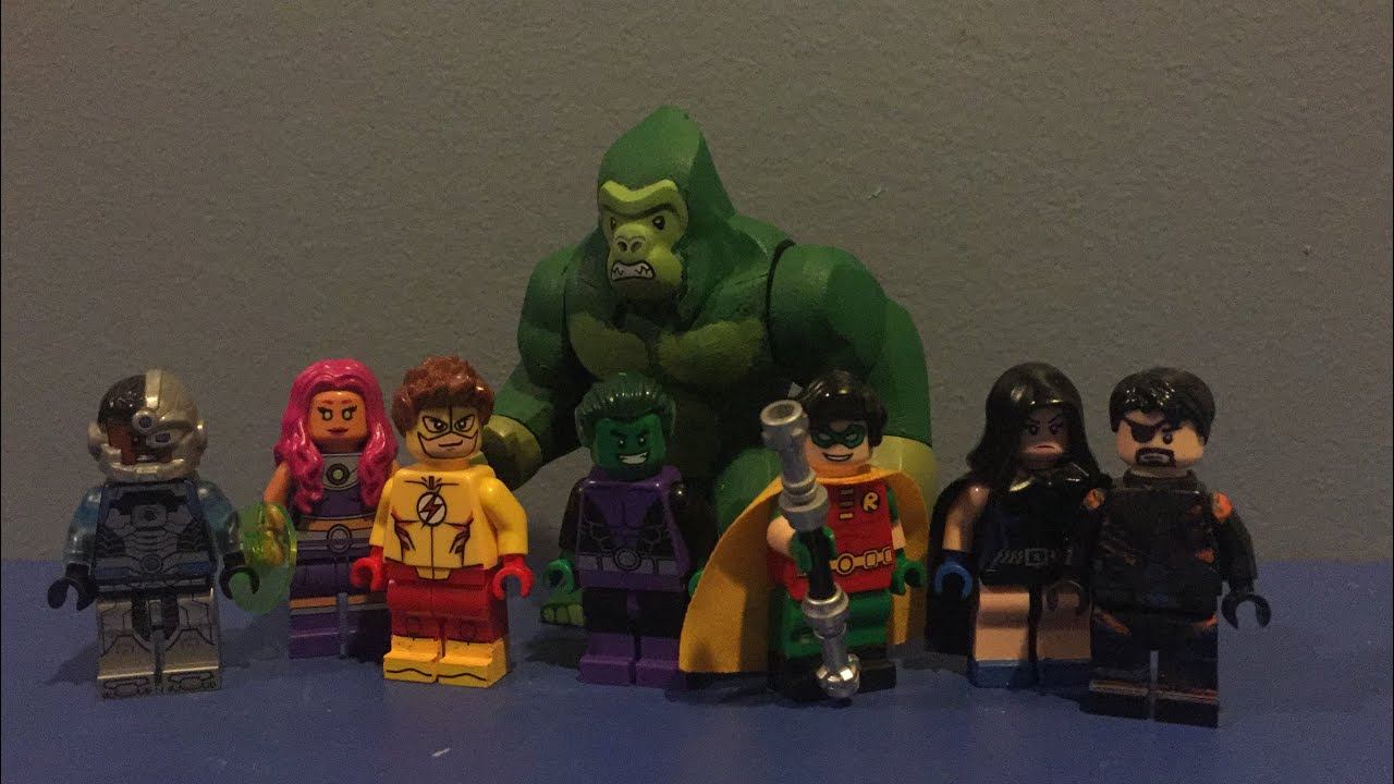 lego beast boy - photo #37